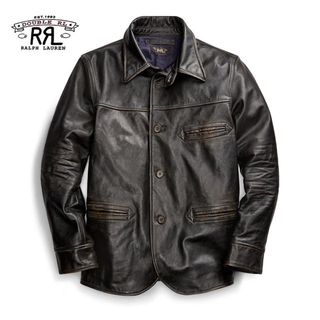 RRL - 【新品】RRL 2019W Leather Car Coat XL