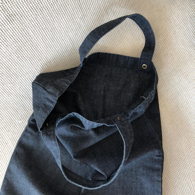 PRADA(プラダ)のプラダ デニムエコバック レディースのバッグ(エコバッグ)の商品写真