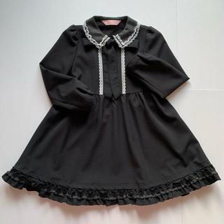 Catherine Cottage - 【美品】Lili lundi♡キッズワンピース フォ-マル 入学式 黒♡130