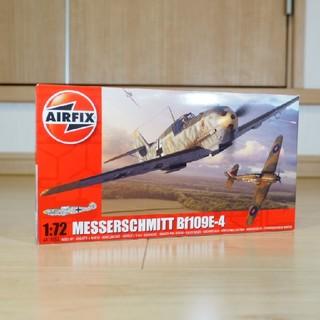 エアフィックス 1/72 メッサーシュミット Bf109E-4 1008A(模型/プラモデル)