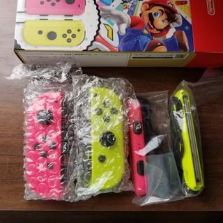 ニンテンドースイッチ(Nintendo Switch)のジョイコン Switch ピンク 黄色(その他)