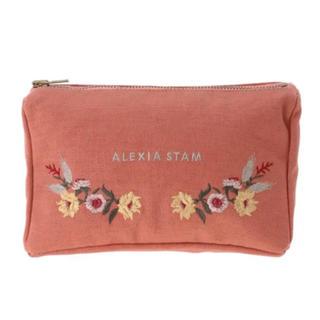 ALEXIA STAM - ALEXIASTAM 刺繍ポーチ