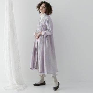 nest Robe - 【今季新作/美品】リネンカシュクールフレアワンピース