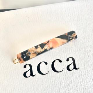 acca - 新品未使用 ♡ acca ♡ 最新作 bi colore タンジェリンブラック