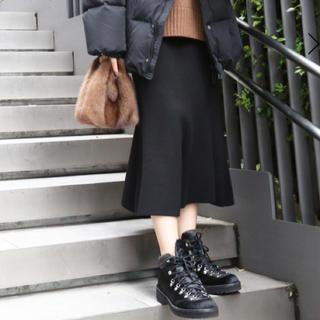 アパルトモンドゥーズィエムクラス(L'Appartement DEUXIEME CLASSE)のフラカップ ×AP studio マウンテンブーツ  サイズ36(ブーツ)