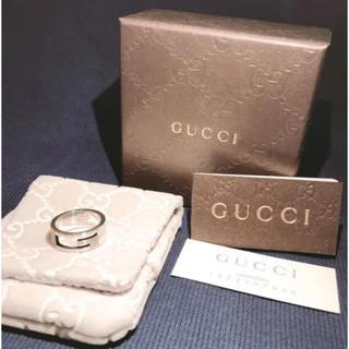 グッチ(Gucci)のGUCCI  Gリング 指輪 14号値下げしました✨(リング(指輪))