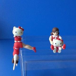 コップのフチ子 キティちゃんとのコラボ商品