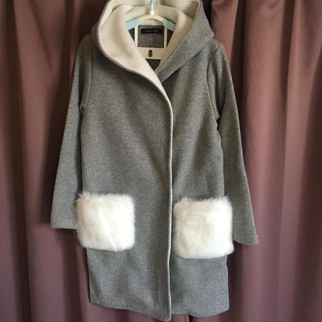 Avail(アベイル)のファーポケット レディースのジャケット/アウター(ロングコート)の商品写真