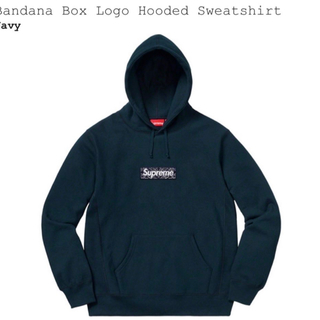 Supreme - supreme bandana box logo hoodie バンダナ