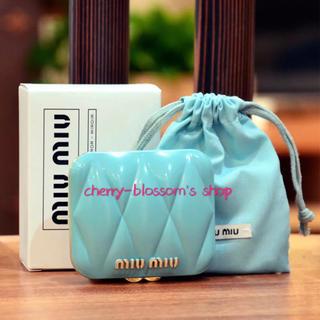 ミュウミュウ(miumiu)の新品未使用 MIUMIU ミュウミュウ  ミラー(ミラー)