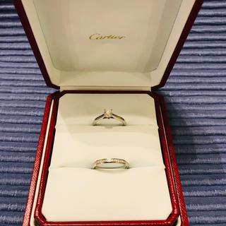 カルティエ(Cartier)のエンゲージリング・マリッジリング 11号(リング(指輪))