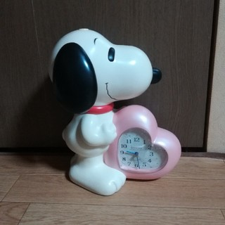 スヌーピー(SNOOPY)のスヌーピー 目覚まし時計 レトロ(置時計)