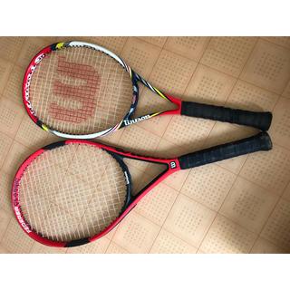 wilson - ウィルソン硬式テニスラケット 親子2本セット