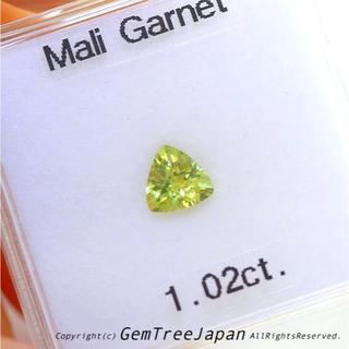 価値ある一石❗️大きさ・品質・輝き✨貴重な存在のマリガーネッット1.02ct
