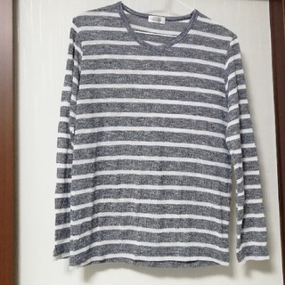 シマムラ(しまむら)のボーダーカットソー 2L(Tシャツ/カットソー(七分/長袖))