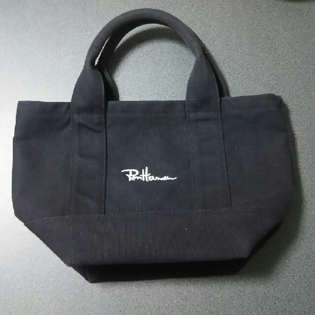 Ron Herman(ロンハーマン)のトートバック  黒  ブラック ロンハーマン レディースのバッグ(トートバッグ)の商品写真