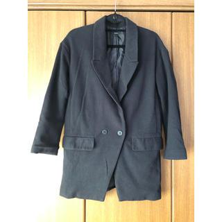 エモダ(EMODA)のEMODA ブラックジャケット(テーラードジャケット)