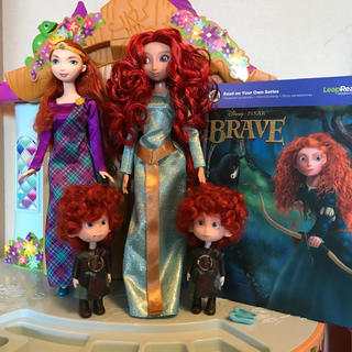 Disney - メリダ   ディズニーストア人形
