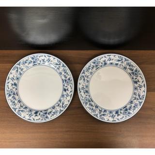 ノリタケ(Noritake)のノリタケ プレート ペア 染付花唐草 中古(食器)