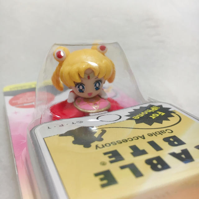 セーラームーン(セーラームーン)の新品 ケーブルバイト 美少女戦士 セーラームーン エンタメ/ホビーのおもちゃ/ぬいぐるみ(キャラクターグッズ)の商品写真