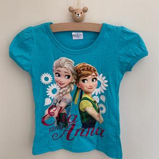 Disney - カットソー Tシャツ アナと雪の女王 110 女の子
