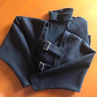 Ameri VINTAGE - Ameri Vintage LAYERED KNIT DRESS