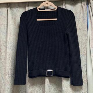 アーモワールカプリス(armoire caprice)の美品♡ Zazies Paris 黒 セーター アーモワールカプリス フランス(ニット/セーター)