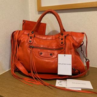 バレンシアガバッグ(BALENCIAGA BAG)の【可愛い赤】BALENCIAGA 2WAYバッグ   (ハンドバッグ)