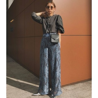 Ameri VINTAGE - アメリヴィンテージ LAYLA LACE PANTS