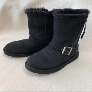 アグ(UGG)の日本未入荷 正規品 UGG アグ ムートン ブーツ ブラック 22cm(ブーツ)