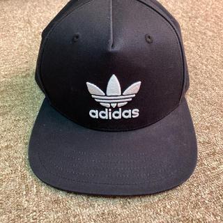 アディダス(adidas)のadidas キャップ 黒 ブラック(キャップ)