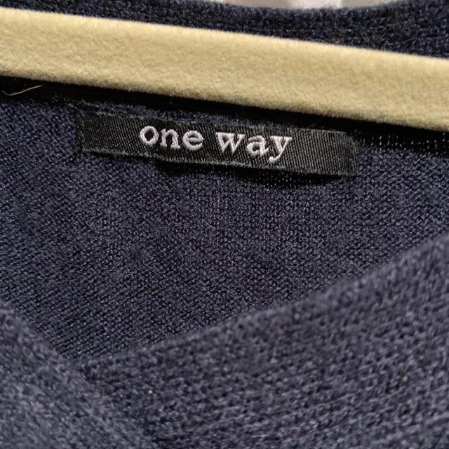one*way(ワンウェイ)のONEWAY ニット レディースのトップス(ニット/セーター)の商品写真