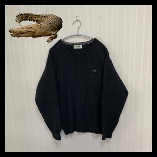 Crocodile - 【美品】クロコダイル ビックサイズ セーター ニット オシャレ レトロ