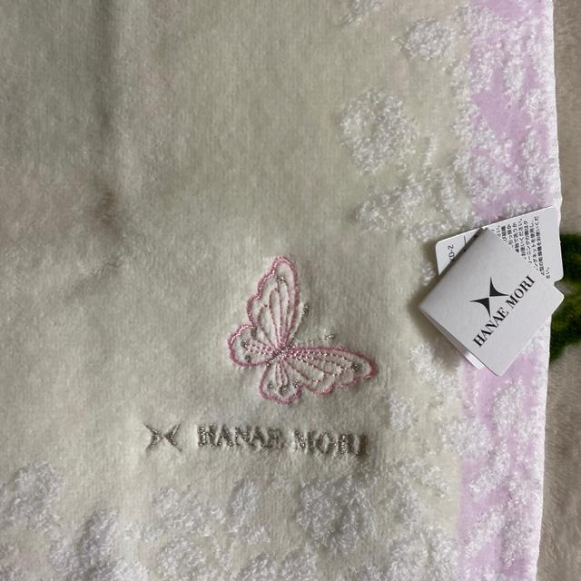 HANAE MORI(ハナエモリ)のタオルハンカチ+オマケのガム レディースのファッション小物(ハンカチ)の商品写真