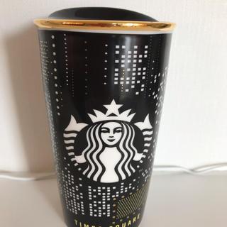 Starbucks Coffee - スターバックス陶器タンブラー NY限定【中古】
