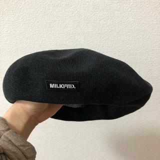 ミルクフェド(MILKFED.)のMILKFED ベレー帽(ハンチング/ベレー帽)