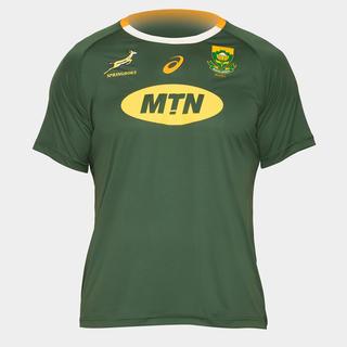 アシックス(asics)の南アフリカ スプリングボクス ホームサポーターラグビーTシャツ(ラグビー)