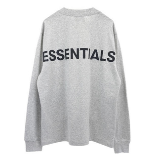 FEAR OF GOD - 【値下げ】Essentials L/S Tee / Heather Grey S