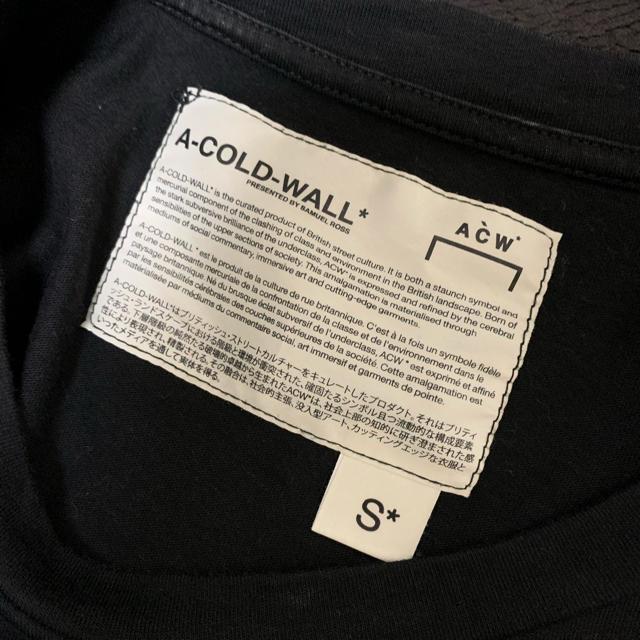 OFF-WHITE(オフホワイト)のA-COLD-WALL ジップポケット Tシャツ メンズのトップス(Tシャツ/カットソー(半袖/袖なし))の商品写真