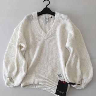 DOUBLE STANDARD CLOTHING - 新品◆ ダブルスタンダードクロージング◆袖ボリュームVネックニット