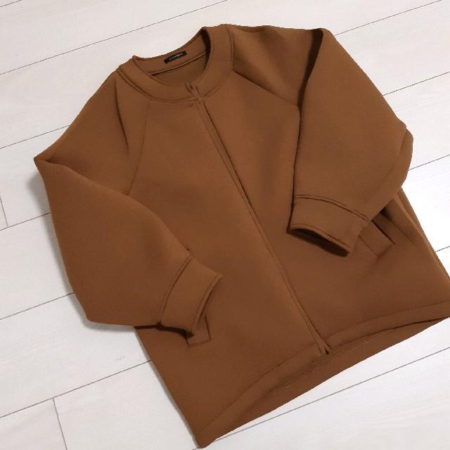 IENA(イエナ)のボンディングドルマンジップブルゾン 38 レディースのジャケット/アウター(ブルゾン)の商品写真