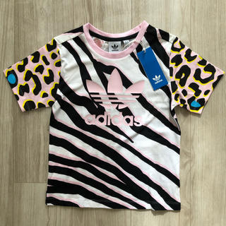 adidas - 【海外限定】新品 アディダス オリジナルス キッズ アニマリ柄 Tシャツ 110