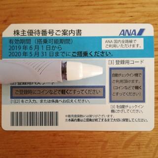 ANA(全日本空輸) - ANA株主優待券 2020年5月31日まで有効