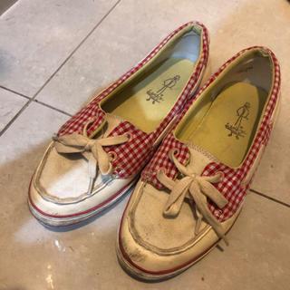 アシナガオジサン(あしながおじさん)の赤 靴(その他)