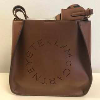 ステラマッカートニー(Stella McCartney)の新品ロゴショルダー キャメル(ショルダーバッグ)