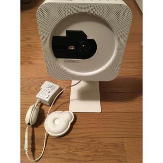 MUJI (無印良品) - 無印良品 CD PLAYER CPD-4 スタンド付き