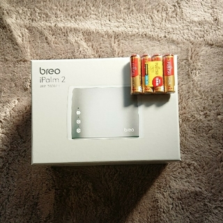 ☆新品未開封☆ breo BRP3000H 電池付属(マッサージ機)