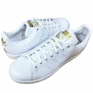 アディダス(adidas)の24.5cm スタンスミス ホワイト ゴールド adidas(スニーカー)