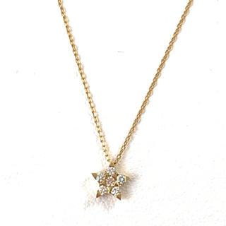 STAR JEWELRY - スタージュエリー ネックレス ダイヤモンド k18 star jewelry
