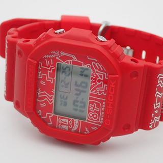 カシオ(CASIO)のG-SHOCK X KEITH HARING DW-5600KEITH-4(腕時計(デジタル))